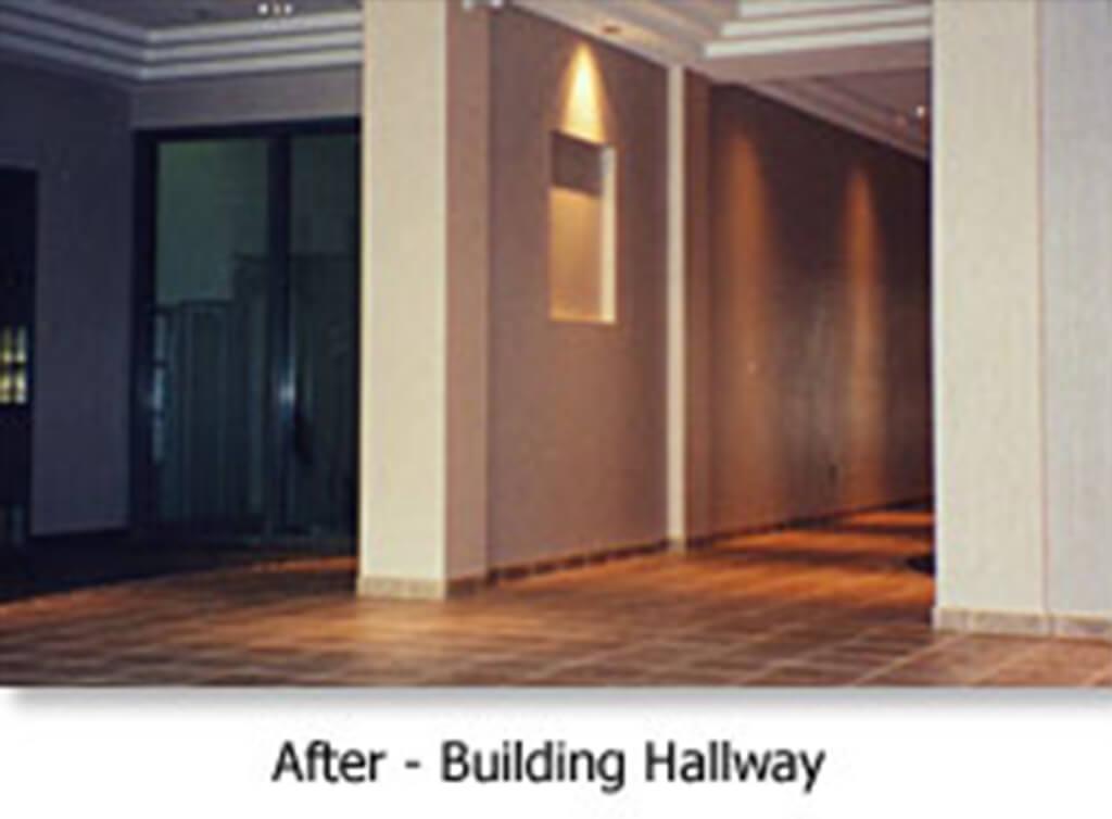 After - Building Hallway