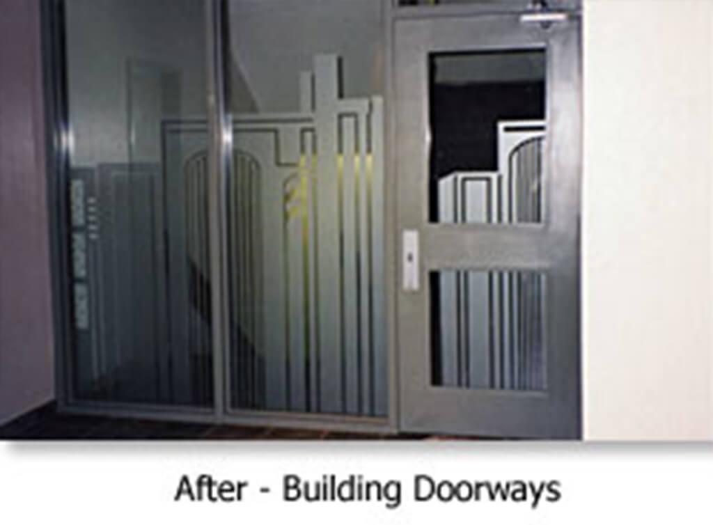 After - Building Doorways