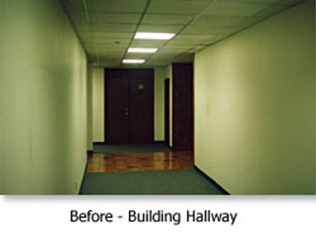Before - Building Hallways