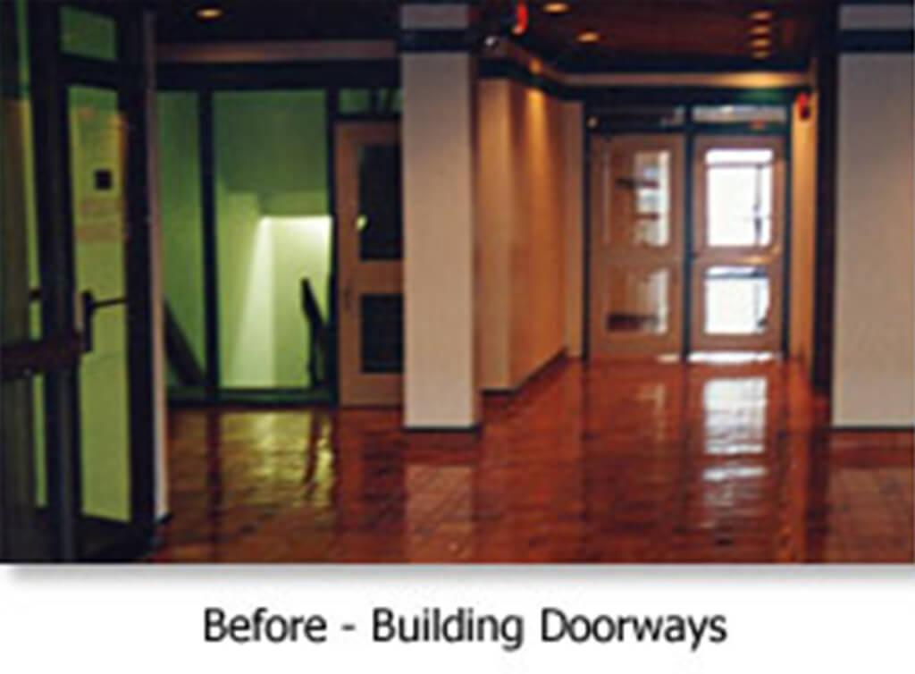 Before - Building Doorways